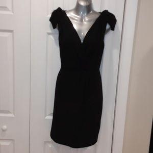 Ann Taylor Loft Little Black Dress 4